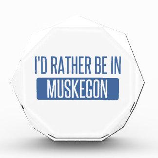 Trofeo Acrílico Estaría bastante en Muskegon