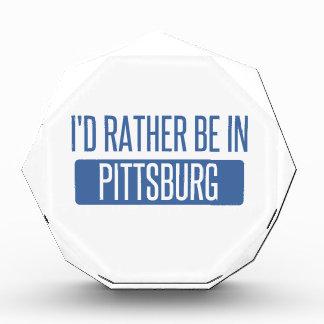 Trofeo Acrílico Estaría bastante en Pittsburg