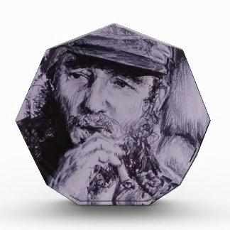 Trofeo Acrílico Fidel Castro
