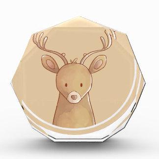 Trofeo Acrílico forest portrait deer