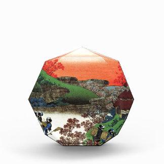 Trofeo Acrílico Hokusai - arte japonés - Japón