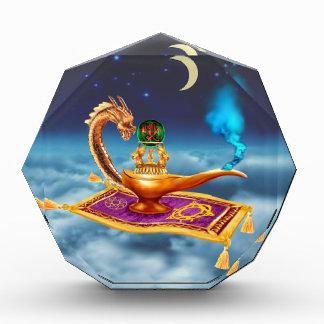 Trofeo Acrílico Lámpara mágica del dragón