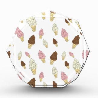 Trofeo Acrílico Modelo del cono de helado
