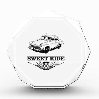 Trofeo Acrílico muchacho dulce del coche del paseo