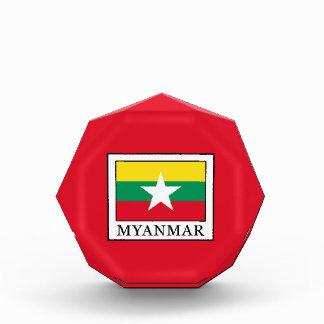 Trofeo Acrílico Myanmar