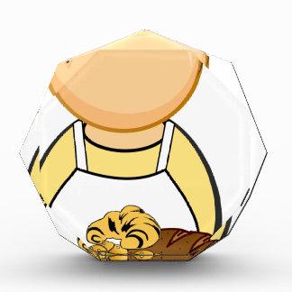 Trofeo Acrílico Panadero