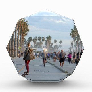 Trofeo Acrílico patinaje a la playa de Venecia