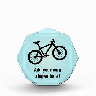Trofeo Acrílico Personalizado Biking de la montaña - adorno de la