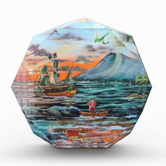 Trofeo Acrílico Pintura de Bell del chapucero de la ensenada del