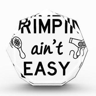 Trofeo Acrílico Primpin no es fácil