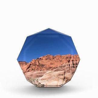 Trofeo Acrílico Rocas rojas y cielos azules