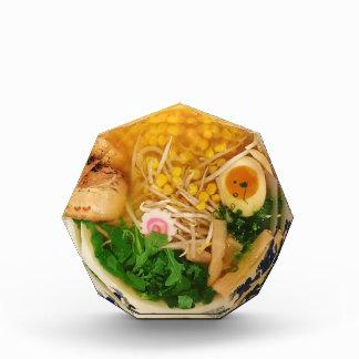 Trofeo Acrílico Sopa de fideos de los Ramen del cerdo