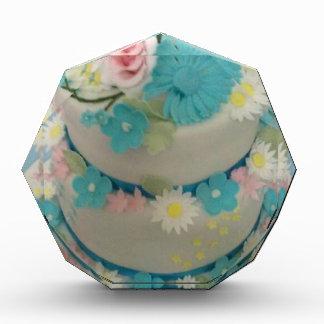 Trofeo Acrílico Torta de cumpleaños 1