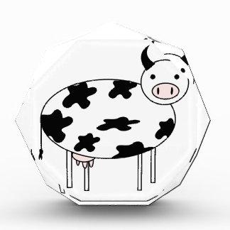 Trofeo Acrílico Vaca ilustrada