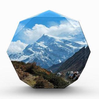 Trofeo Acrílico Verano del viaje de Himalaya el monte Everest la