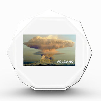 Trofeo Acrílico Volcán distante