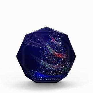 Trofeo Árbol azul hermoso