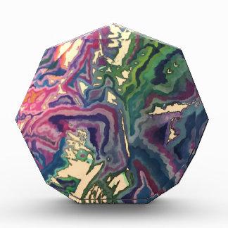 Trofeo Arte topográfico IV del papel seda