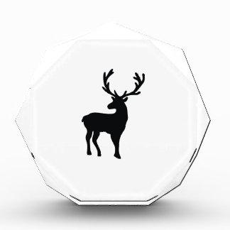 Trofeo Ciervos blancos y negros