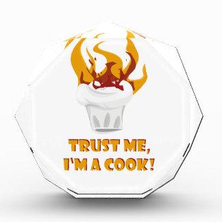 Trofeo ¡Confíe en que yo es cocinero!