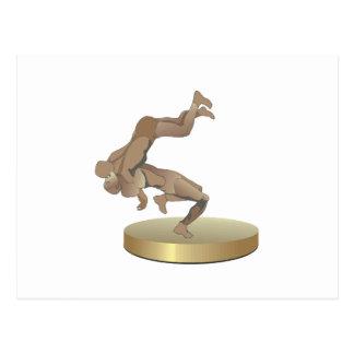 Trofeo de lucha postal