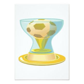 Trofeo del fútbol comunicado