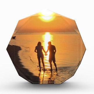 Trofeo Dos amantes en la salida del sol