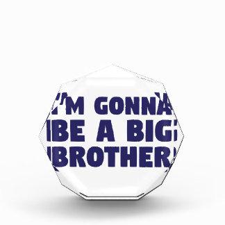 Trofeo El ir a ser un hermano mayor