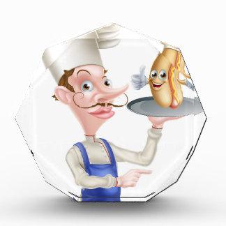 Trofeo El señalar del cocinero del dibujo animado del