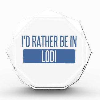 Trofeo Estaría bastante en Lodi