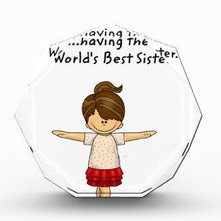 Trofeo La felicidad… está teniendo la mejor hermana. .pn