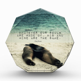 Trofeo Playa romántica Emily Bronte de la cita de los