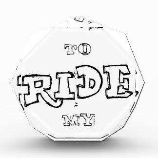 Trofeo Quiero montar mi bicicleta
