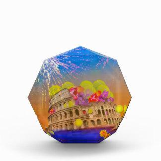 Trofeo Roma celebra la estación con las pelotas de tenis,