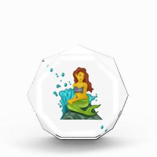 Trofeo sirena del emoji