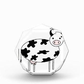 Trofeo Vaca ilustrada