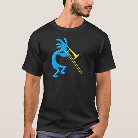 Trombone de Kokopelli Camiseta
