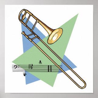 trombone póster