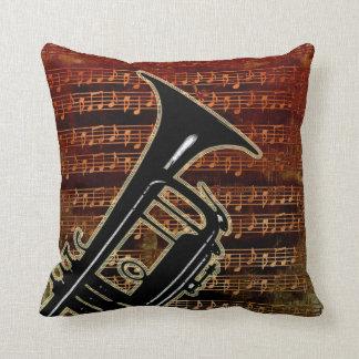 Trompeta caliente ID280 de los tonos Cojín Decorativo