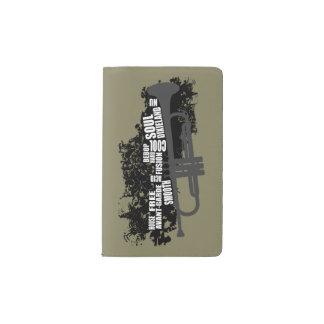 Trompeta y estilos cuaderno de bolsillo moleskine