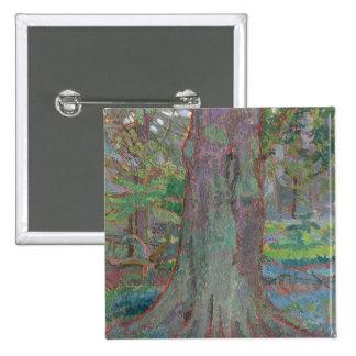 Tronco de árbol, 1916 (aceite en lona) pins