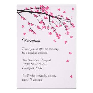 Tronco de la flor de cerezo - invitación de la