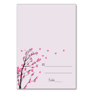 Tronco de la flor de cerezo - tarjeta del