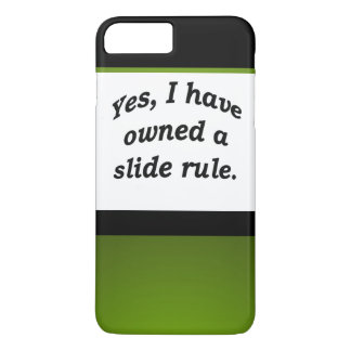 TRONCO Nerdy de la regla de diapositiva del papá Funda iPhone 7 Plus
