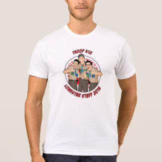 Tropa 412 del personal de Lonestar Camisetas