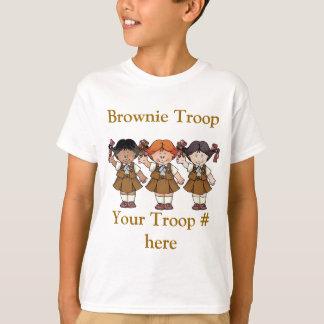Tropa del brownie camiseta