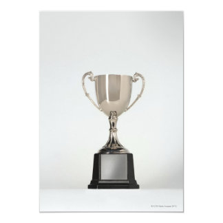 Trophys de plata invitación 12,7 x 17,8 cm