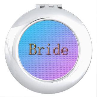 Trópico-Azul-Rosado-Bronce de Bride_Spring-Summer Espejos Para El Bolso