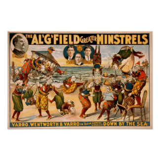 Trovadores 1905 del campo del Al mayores Posters
