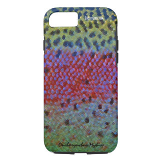 Trucha arco iris - caja del teléfono celular funda para iPhone 8/7